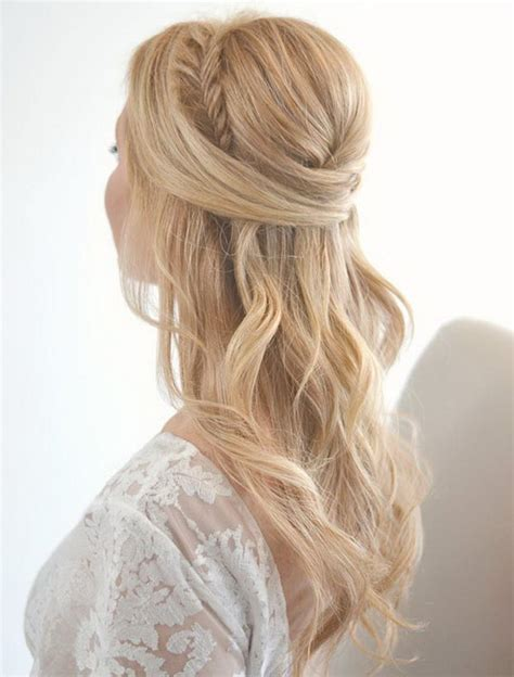 hairstyles with half up and half 55 stunning half up half hairstyles