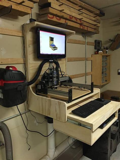 finished cnc station cnc woodworking cnc wood diy cnc