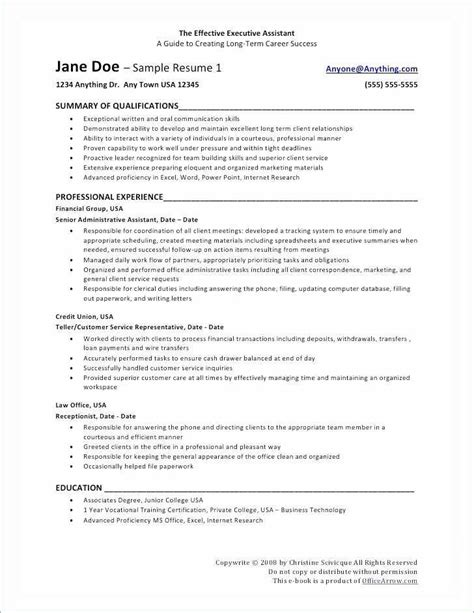 Resume For Promotion by Resume Template For Promotion Best Of Resume For