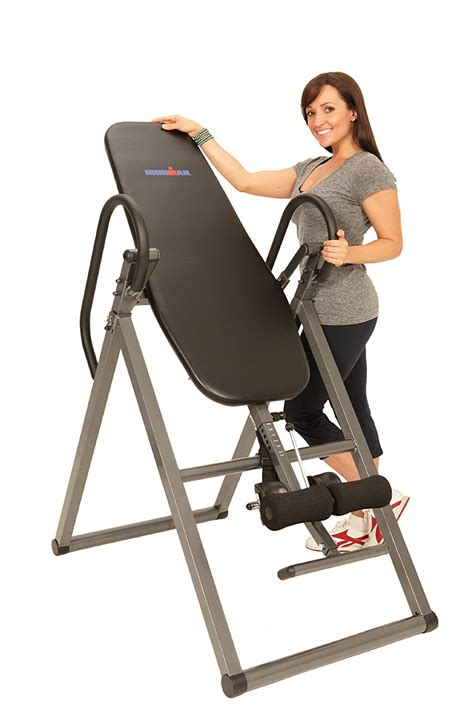 exerpeutic inversion table with comfort foam backrest table be stunning ironman inversion table com exerpeutic inversion table with comfort