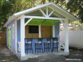 shed in backyard backyard bar shed ideas build a bar right in your