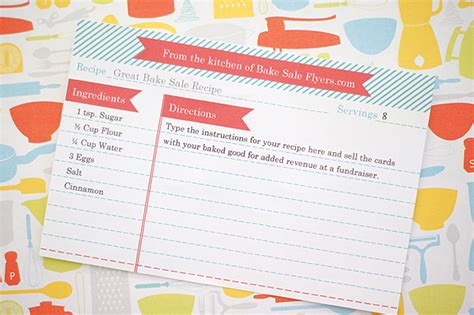 blank recipe cards for sale bake sale ideas recipes party invitations ideas