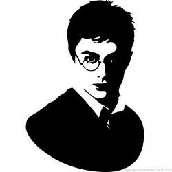 Harry Potter Bathroom Accessories by Movie Wall Decals Wall Decal Silhouette Harry Potter