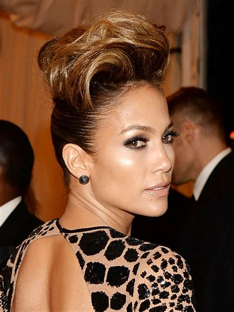 jlo hairstyles 2013 pictures met ball 2013 hairstyles and updos jennifer