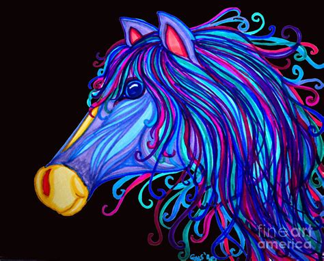 colorful horses colorful paintings www imgkid the image