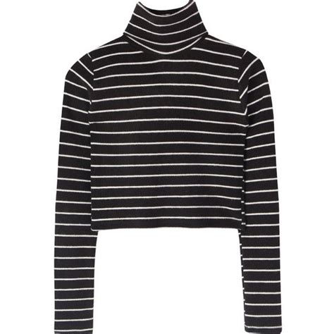 Turtleneck Striped Top 25 best ideas about striped turtleneck on