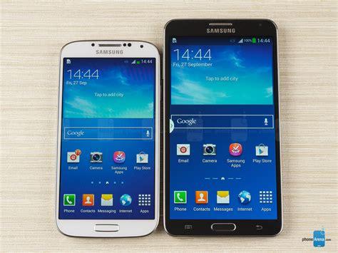 3 Samsung Galaxy S4 samsung galaxy note 3 vs samsung galaxy s4
