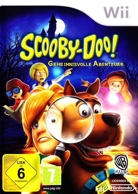 Cover Front Scoopy Original Ahm scooby doo frights 2009 wii box cover