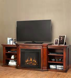 valmont electric fireplace media center testing