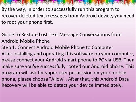 can you recover deleted text messages on android best tool to recover deleted text messages from android phone
