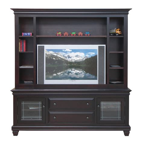 glass doors for entertainment center glass door tv with hutch classic eco friendly