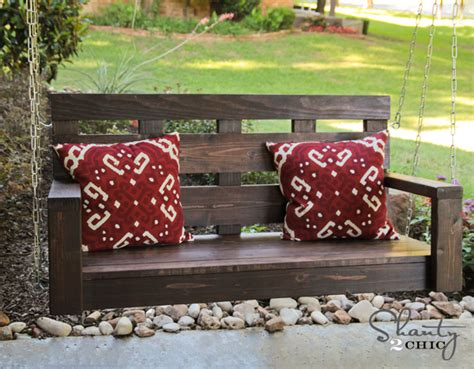 homemade porch swing pdf diy swing bench diy download tenon cutter woodideas