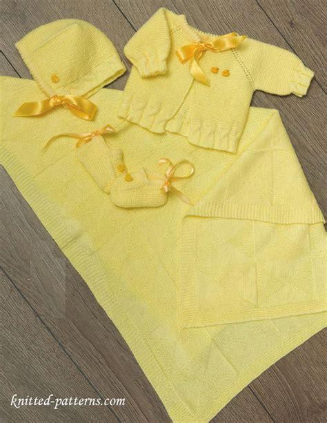 baby layette knitting patterns free craft passions newborn layette free knitting link here