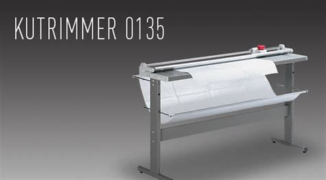 Rotary Trimmer Paper Cutter Ideal 0135 kutrimmer 0135 large format rotary trimmer