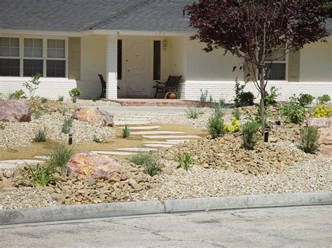 grass conversion large front yard 183 cacti landscapes las