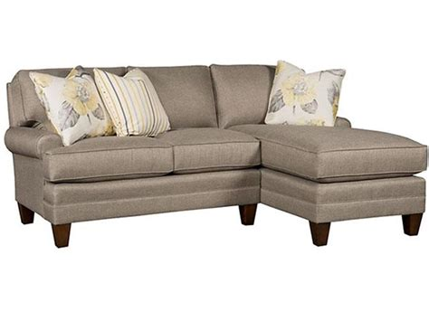King Hickory Sofa King Hickory Living Room Left Arm Facing Sofa With Sock Arm Box Attached Back Modern Leg
