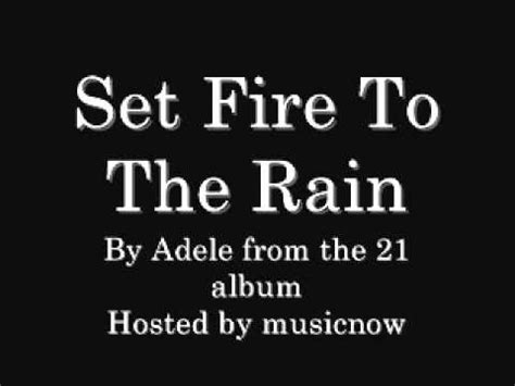 download mp3 free adele set fire to the rain adele set fire to the rain with download link youtube