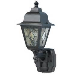 180 degree motion activated classic cottage lantern in