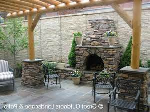 Large Outdoor Fireplaces by Large Outdoor Fireplace Photo