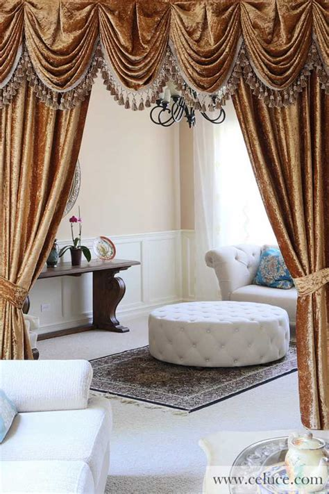 swag drapes and curtains luxury swags and tails valance curtain drapes