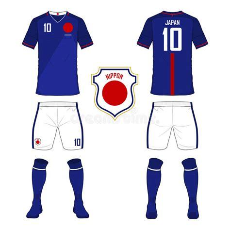 design soccer jersey online free set of soccer jersey or football kit template for japan