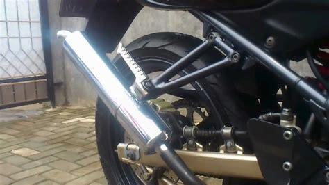 Knalpot Cbr 150 Standar Nyobain Knalpot 150 Rr Standar Racing