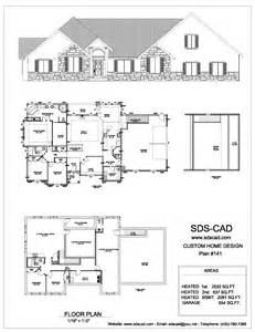 complete house plans blueprints construction documents from sdscad plan floor