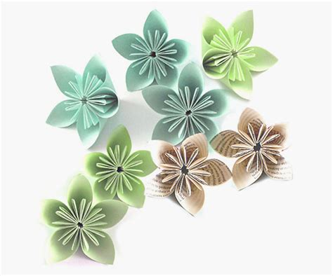 Simple Paper Flower - easy paper flowers to make