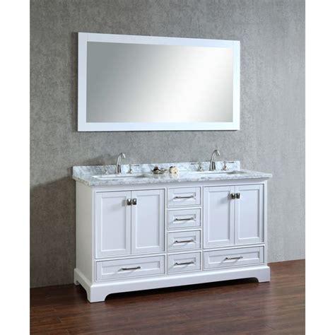 bathroom vanity definition stufurhome white 60 inch double sink bathroom vanity set