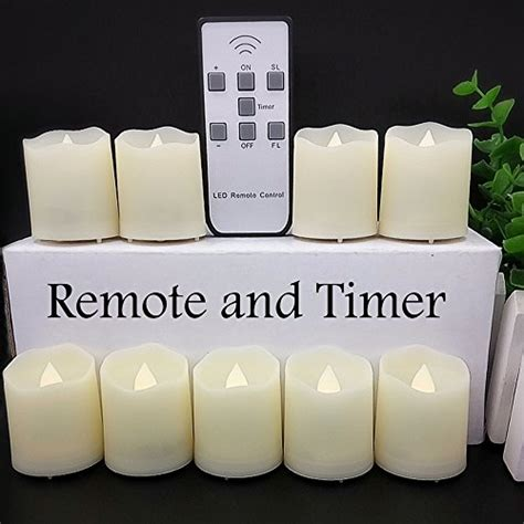 battery operated tea lights with timer timer flickering flameless led tea light 18