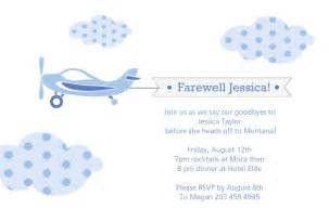 Going away party invitations farewell party invitations
