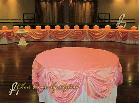 Linens Part Ii Designing The Tables by Chicago Table Linens For Rental In Coral Taffeta In The