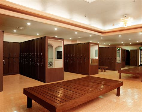 changing room wooden lockers changing room lockers hotels spas furnotel