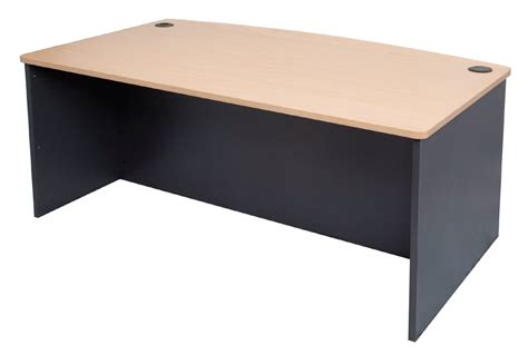 Desk Front by Administrator Range Bow Front Desk Clearance Stock Absoe