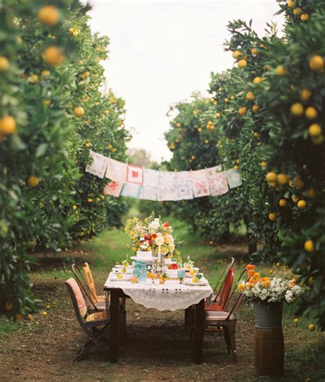 outdoor setting outdoor dinner party the style files