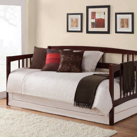 twin day bed twin daybed multiple finishes walmart com