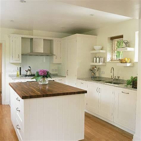 shaker style kitchen ideas shaker style kitchen with granite and wooden worktops