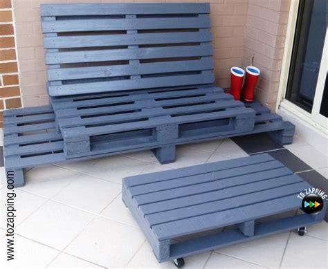 sofa con palets paso a paso sof 225 de exterior hecho con palets tozapping