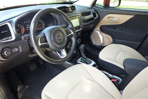 jeep renegade leather interior 2016 jeep renegade latitude 4x4 review price photos gayot