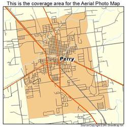 perry map aerial photography map of perry fl florida