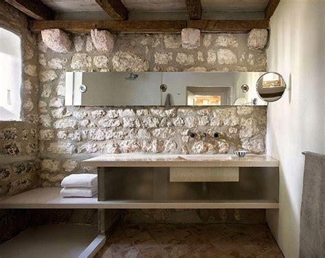 rustic modern wall serene country house design in croatia 171 interior design files