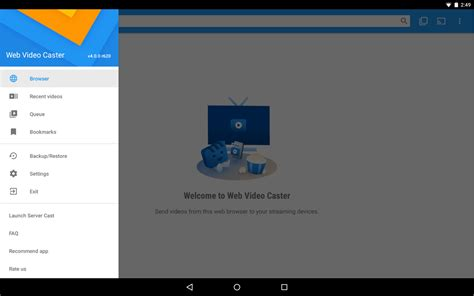 watchon apk web cast browser to tv chromecast dlna apk android cats video players