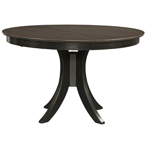 36 Pedestal Dining Table Cosmopolitan Coal Black Dining Room Pedestal Table 48 Quot X 36 Quot H Bernie Phyl S Furniture