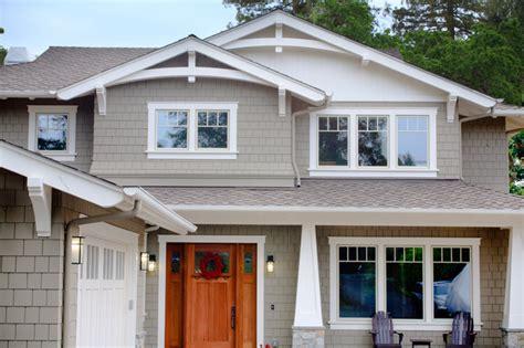 Craftsman Style Windows Decor Craftsman Style New Home Craftsman Exterior San Francisco By Allwood Construction Inc