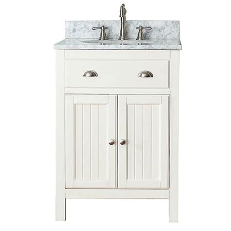 24 inch bathroom vanity combo hamilton french white 24 inch vanity combo with white