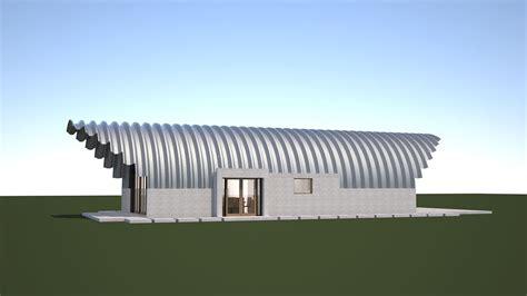 Inexpensive Home Designs building a quonset hut house clever moderns