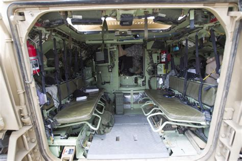 Bradley Interiors by Nevada National Guard Cavalry Receives 59 New Bradley