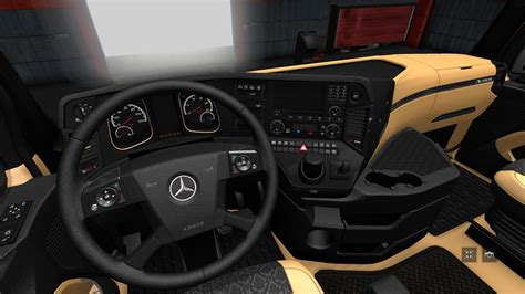 luxury trucks inside the luxury interior for mb mp4 final 1 28 x ets2 euro