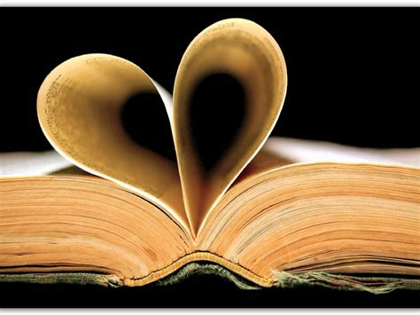 hearts on books imagery and literary devices