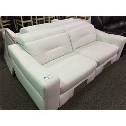 natuzzi leather sofa and loveseat natuzzi white leather sofa and seat able auctions
